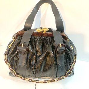 Brand new MARC JACOBS python leather bag